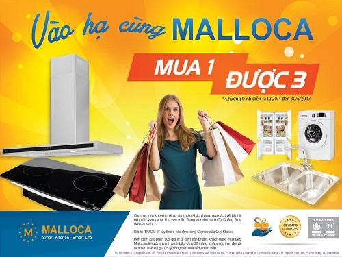 """""""VÀO HẠ CÙNG MALLOCA - MUA 1 ĐƯỢC 3"""""""