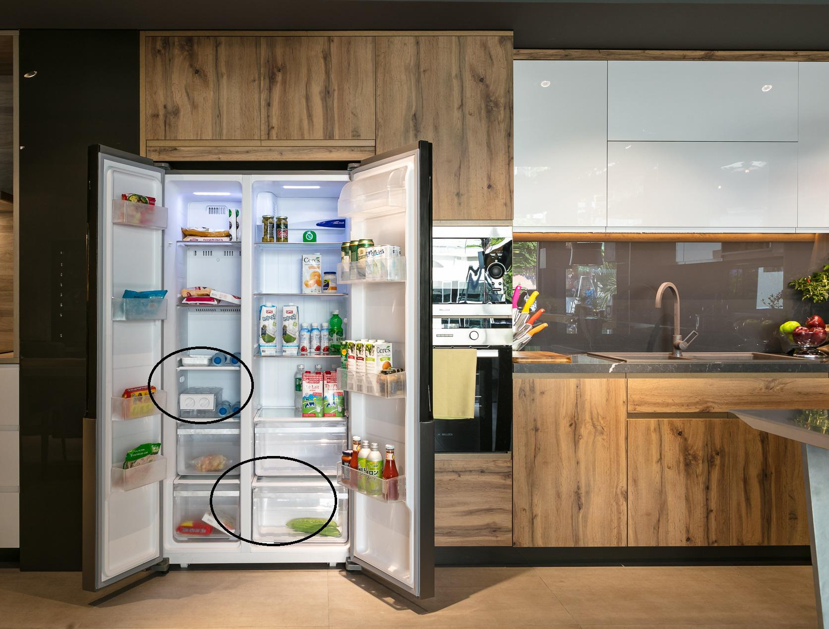 Tìm hiểu về tủ lạnh Side by Side