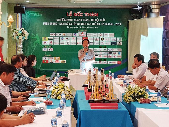Malloca tài trợ Kim cương giải Tennis ngành Trang trí nội thất