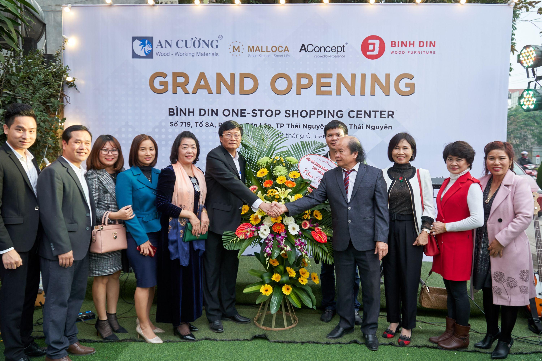 Khai trương showroom nhượng quyền Malloca tại Thái Nguyên