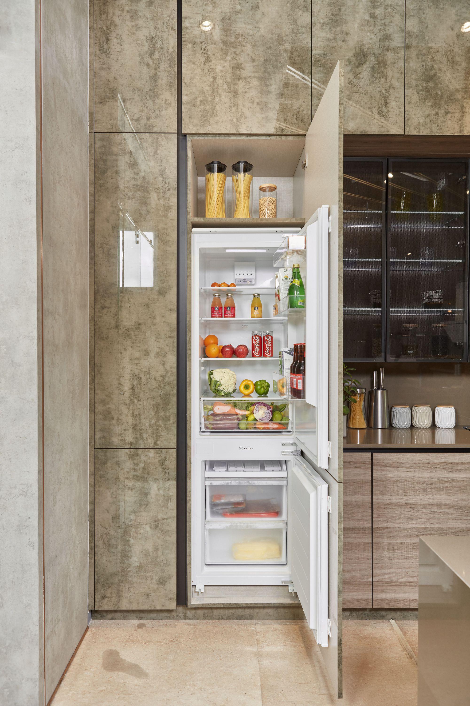 """Tủ lạnh âm tủ Malloca thế hệ mới với nhiều ngăn chứa """"bí mật"""""""