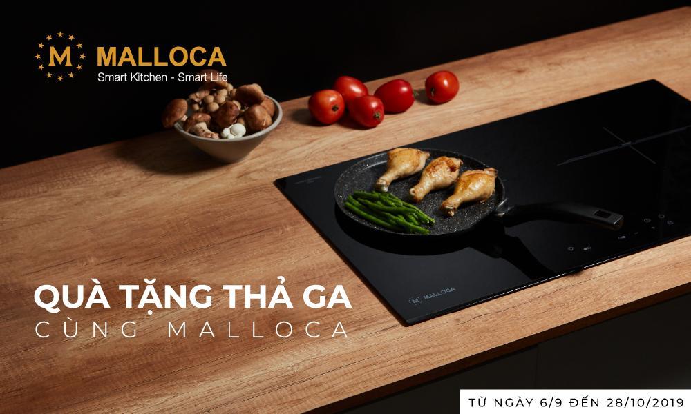 Quà tặng thả ga cùng Malloca