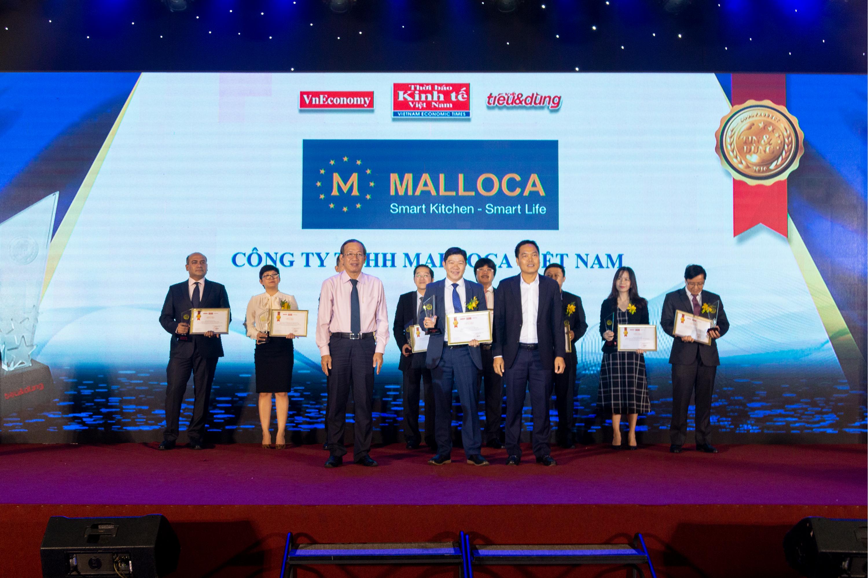 """Malloca nhận danh hiệu """"Sản phẩm và Dịch vụ Tin & Dùng 2019"""""""