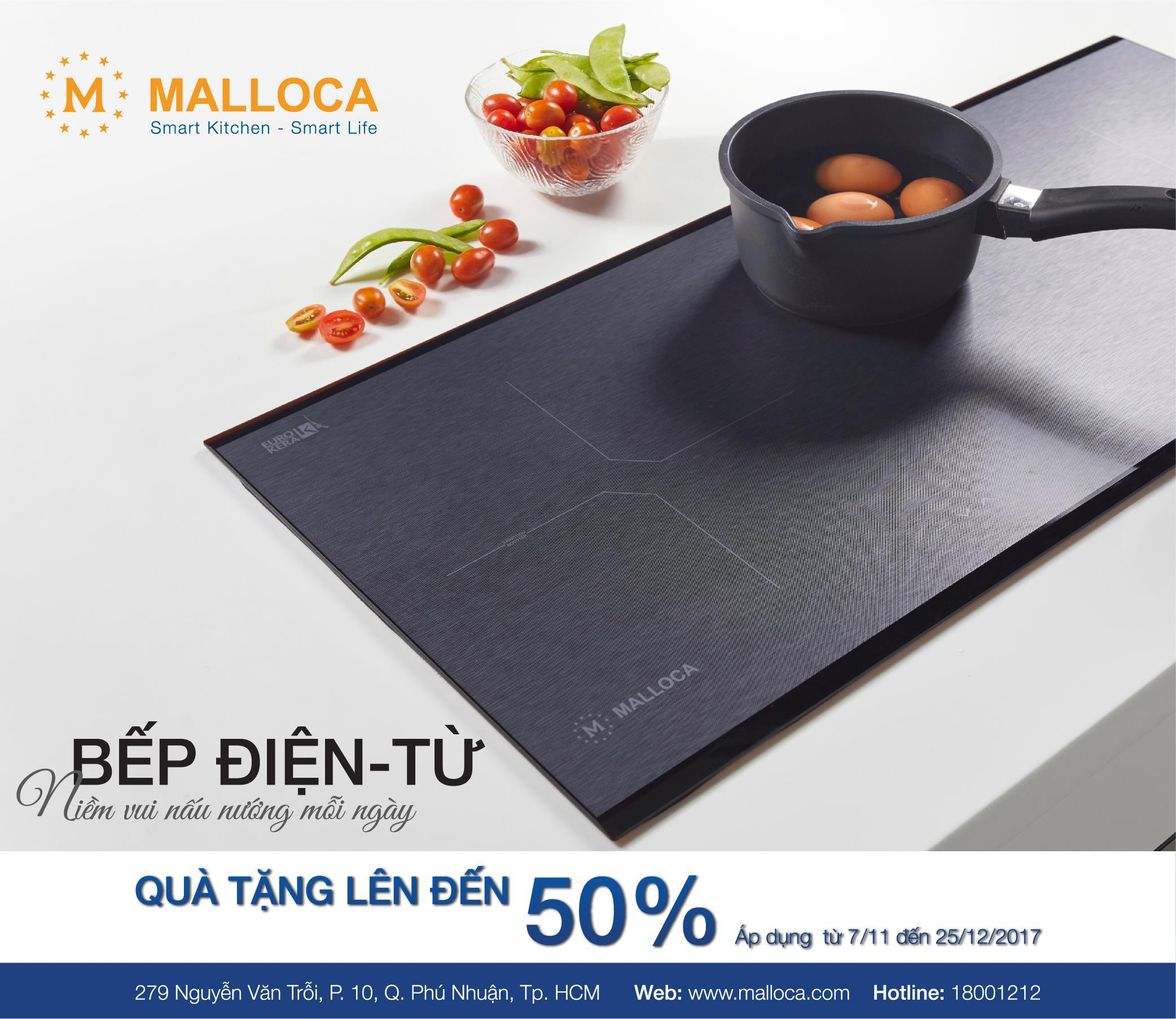 QUÀ TẶNG LÊN ĐẾN 50% CHO 500 SẢN PHẨM MALLOCA