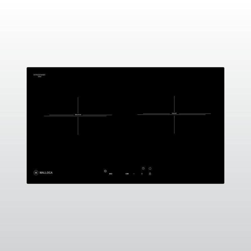 Bếp kính âm 1 điện và 1 từ MH-732 EIR