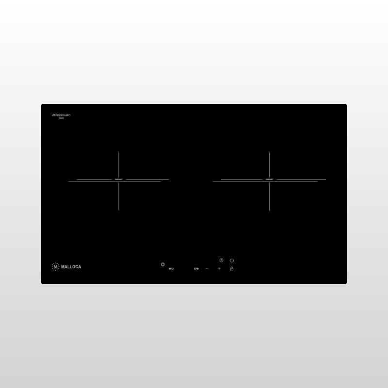 Bếp kính âm 2 điện MH-732 ER