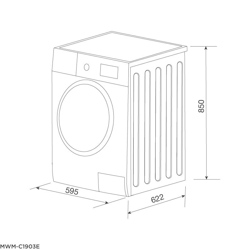 Máy giặt MWM-C1903E