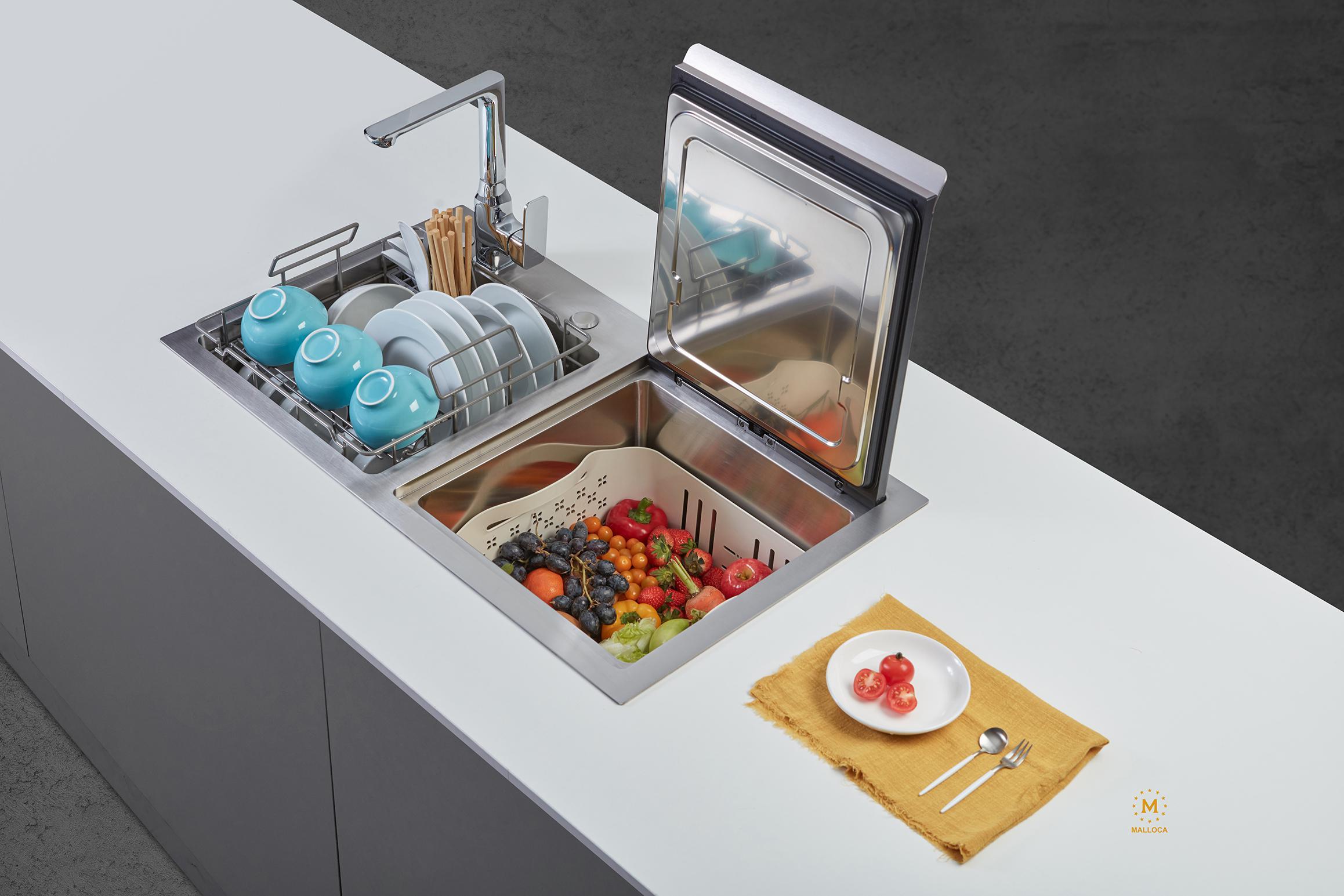 Xu hướng các thiết bị nhà bếp tích hợp trong thiết bị nhà bếp
