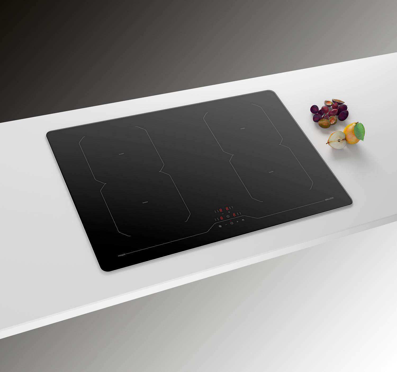 Công nghệ thông minh và tiện ích của bếp điện từ kính âm Malloca