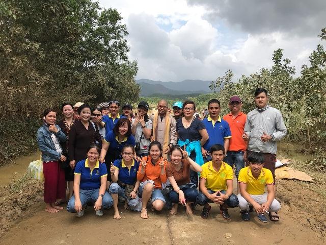 Malloca chung tay hỗ trợ đồng bào miền Trung