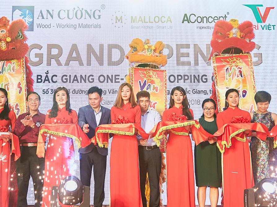 Khai trương showroom nhượng quyền Malloca tại Bắc Giang