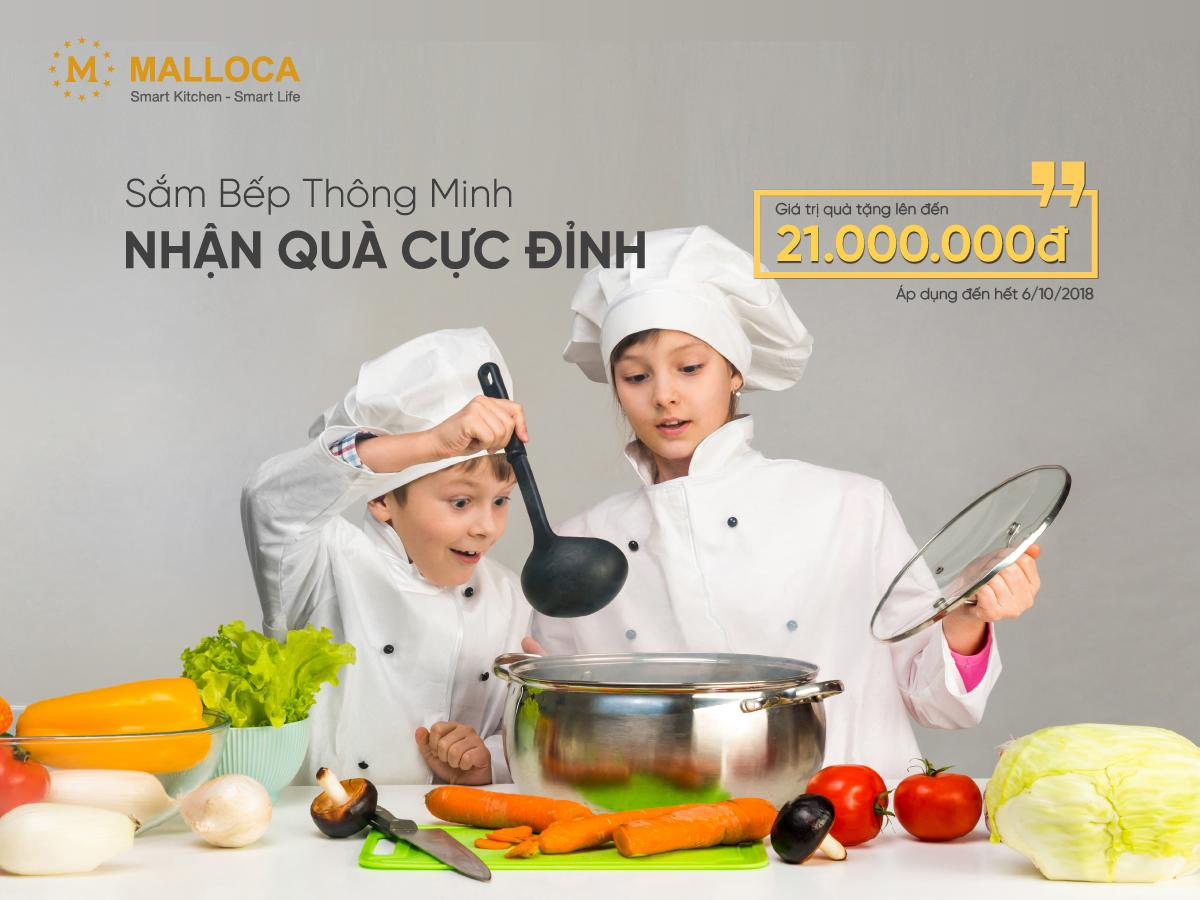 Sắm bếp thông minh – Nhận quà cực đỉnh