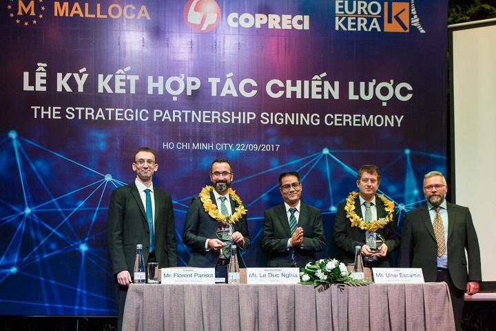 """Malloca Việt Nam hợp tác chiến lược với 2 """"ông lớn"""" châu Âu về thiết bị nhà bếp"""