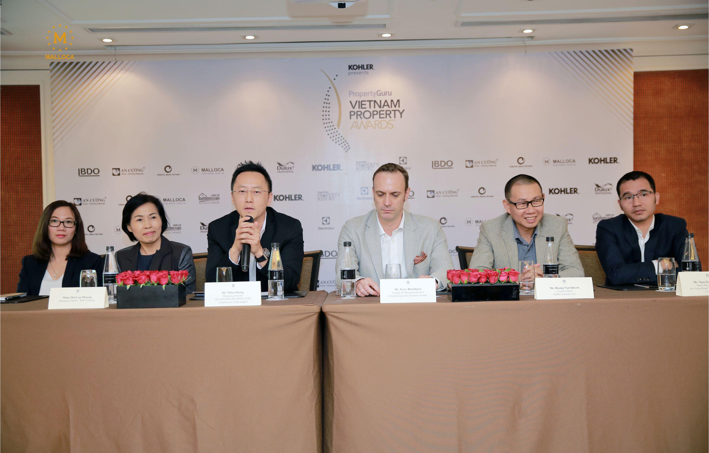 Malloca – nhà tài trợ chính giải thưởng bất động sản châu Á ASIA Property awards 2019