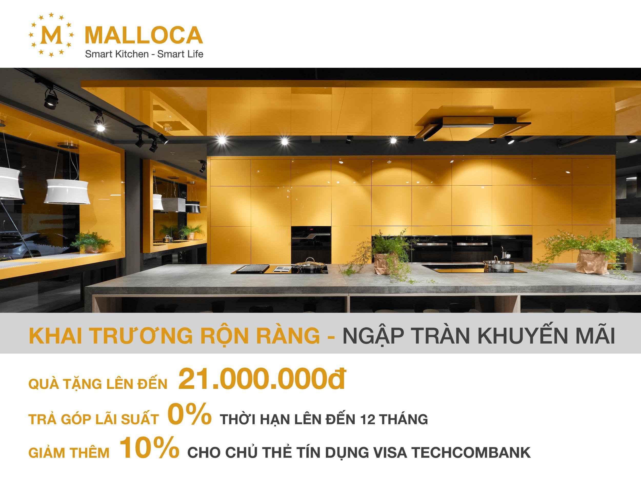 Tân trang nhà bếp với chương trình ưu đãi cho chủ thẻ Techcombank