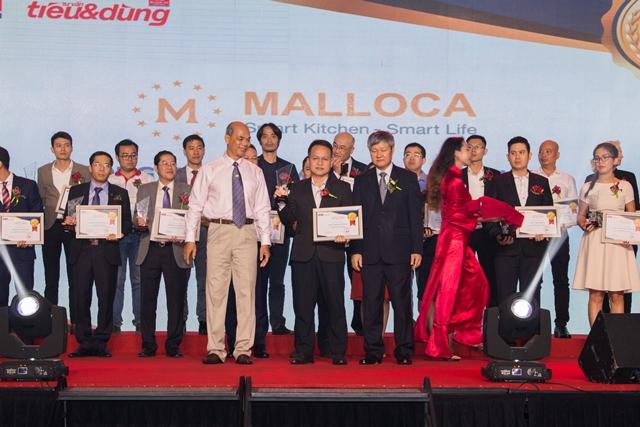 """Malloca Việt Nam vinh dự nhận giải thưởng Top 100 """"Sản phẩm – dịch vụ Tin & Dùng Việt Nam 2017"""""""