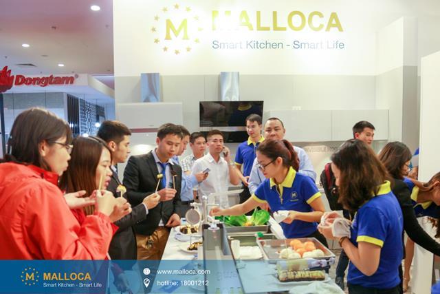 Malloca đồng hành cùng triển lãm Vietbuild HCM 2017