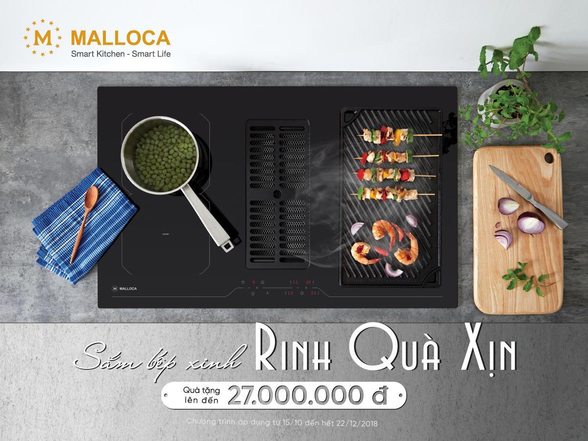 Sắm bếp xinh - Rinh quà xịn